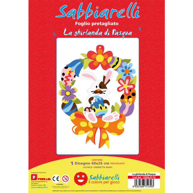 Cover album - La ghirlanda di Pasqua-
