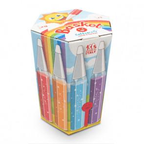 Nuovo Sabbiarelli Basket 12 penne multicolore