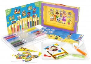 Sabbiarelli Maxi Kit Color & Shine - contenuto