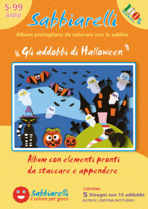 Cover album - Gli addobbi di Halloween -