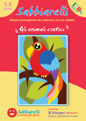 Cover album - Gli animali esotici -