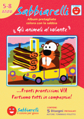 Cover album - Gli animali al volante