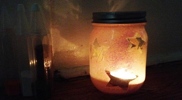 Lanterna di Natale Sabbiarelli