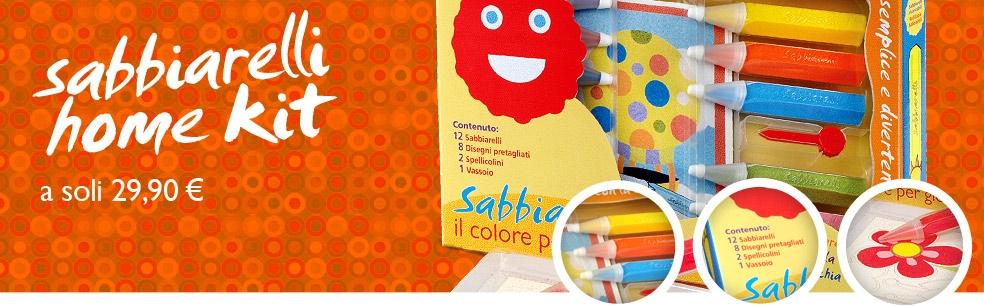 Sabbiarelli home kit a soli 29,90€